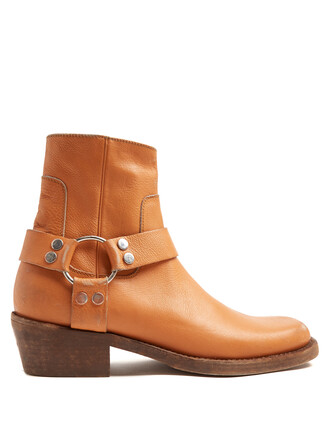 boots leather boots leather camel shoes