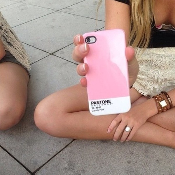jewels pantone phone cover pastel pink tumblr phone case