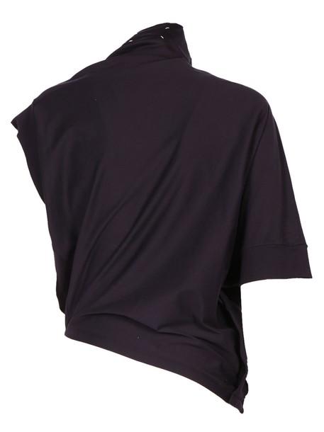 MAISON MARGIELA t-shirt shirt t-shirt navy top