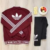 jacket,burgundy,adidas jacket,adidas leggings black