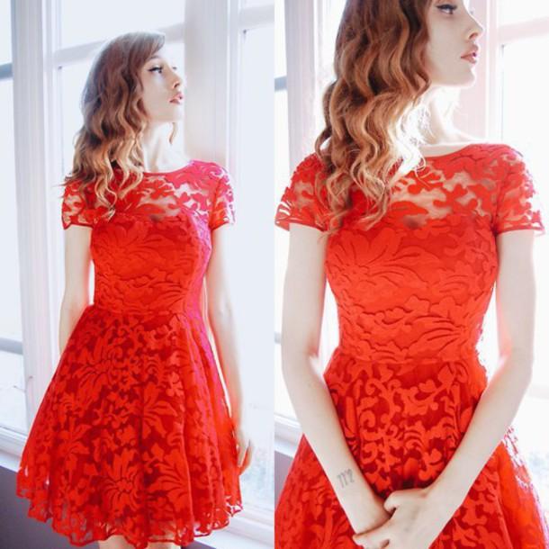 dress Flower lace