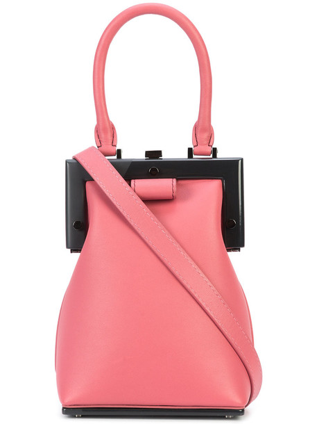 Perrin Paris mini women bag mini bag leather purple pink