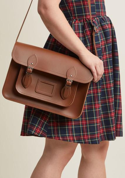 Cambridge Satchel bag brown