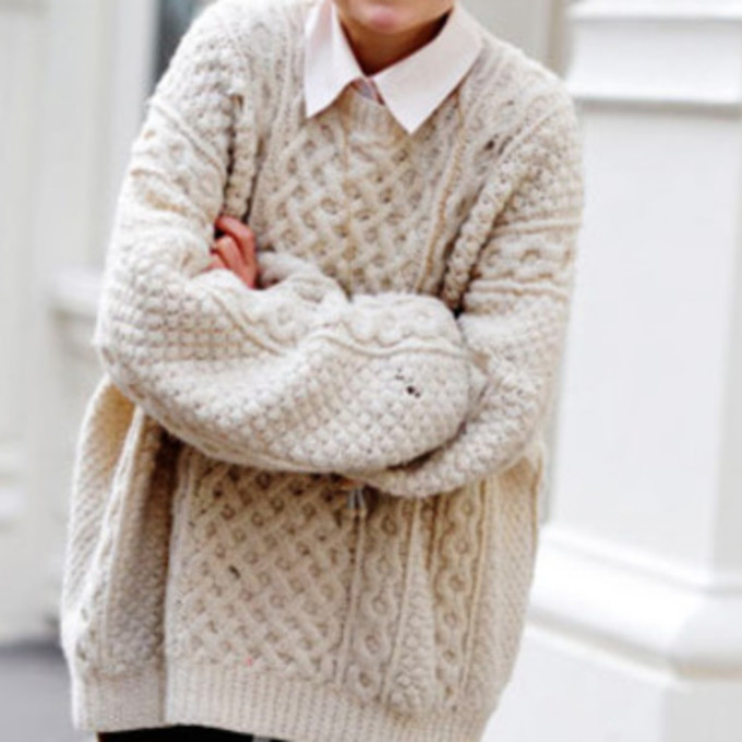 Where to buy cute oversized sweaters
