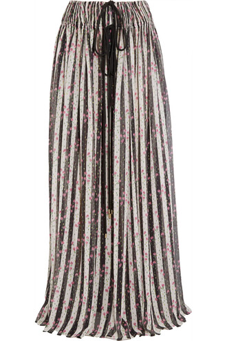 skirt maxi skirt maxi chiffon silk white