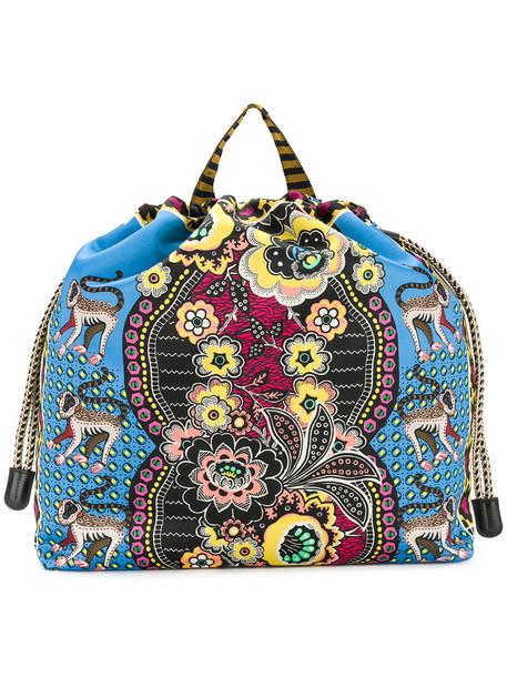 ETRO women backpack print bag