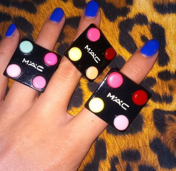 jewels ring mac cosmetics mac ring