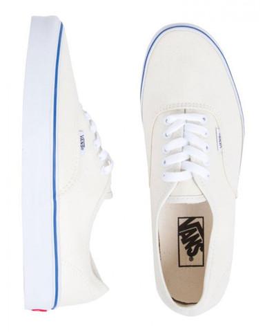 Authentic Canvas Shoes White