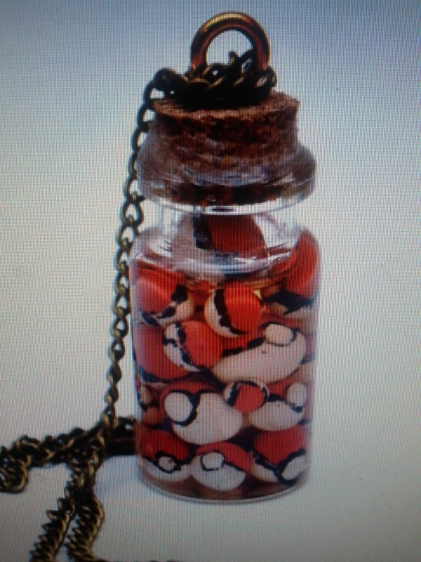 jewels bottle necklace necklace pokemon