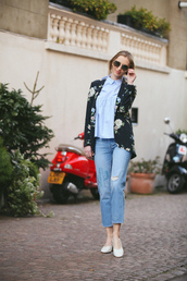 fashionism,blogger,jeans,shirt,jacket,shoes,bag,jewels