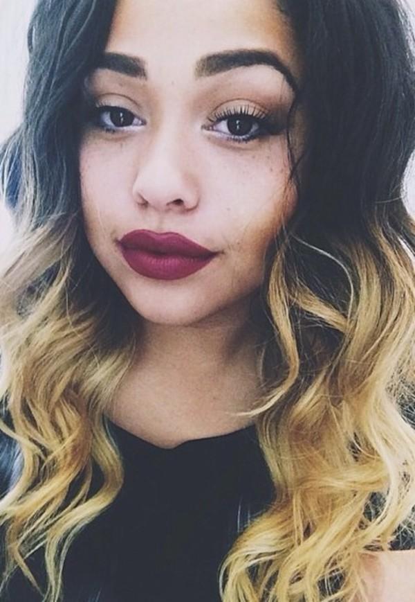 Make Up Lipstick Red Red Lipsstick Jordyn Woods