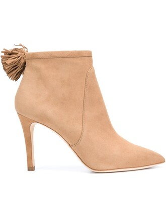 women boots nude suede shoes