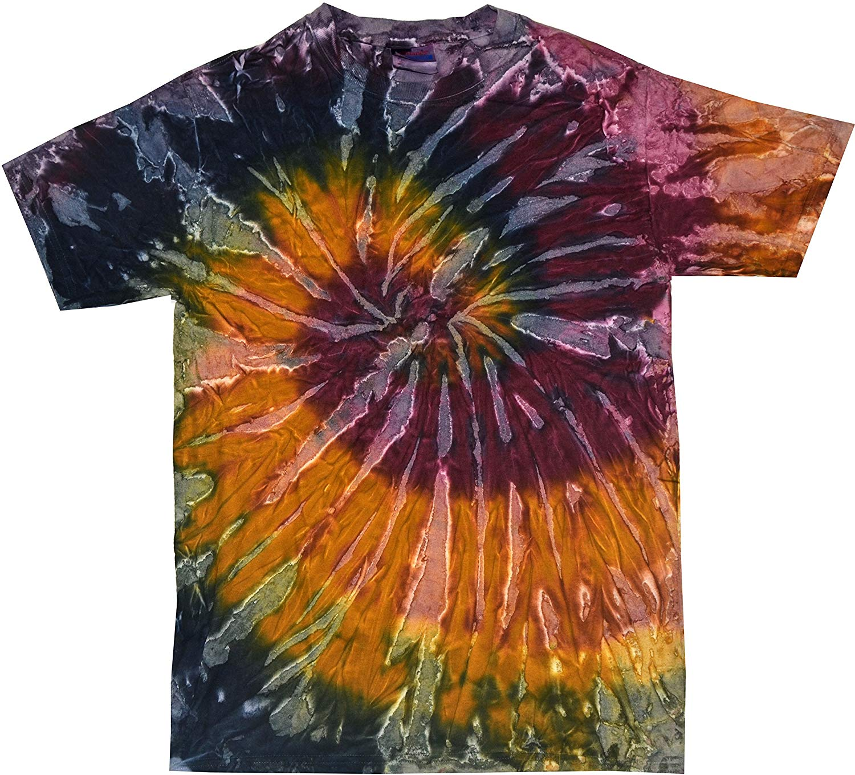 Amazon.com: Colortone Tie Dye Vintage Pigment Collection Youth & Adult T-Shirt: Clothing