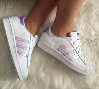 shoes adidas adidas shoes holographic adidas originals