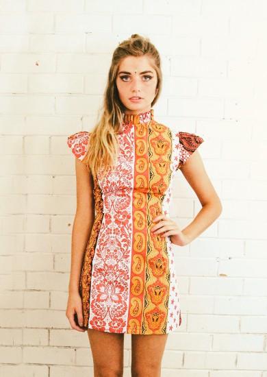 Damsel dress paisley lenni the label