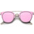 FIYAH WIRE Flat Frame Mirror Sunglasses at FLYJANE