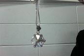 jewels,crystal,ball,cube,pendant,rhinestones,geometric,sterling silver