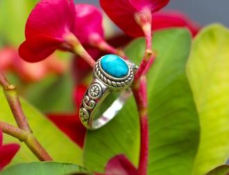 jewels silver jewelry silver ring turquoise turquoise jewelry stone ring bohemian bohemian jewelry bohemian ring boho boho chic boho jewelry ethnic handmade jewellry gypsy hippie hippie chic hippie jewelry beautiful lucky