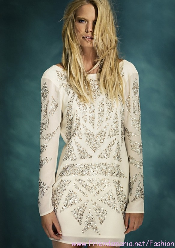 Latest Gina Tricot 2013 Winter Collection For Evenings