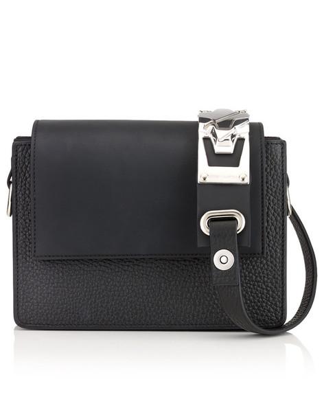 Amey Martin bag shoulder bag leather black neoprene