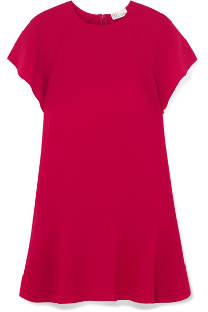 REDValentino dress mini dress mini plum