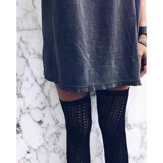 tights free people knee high socks chaussettes knitwear accessories socks