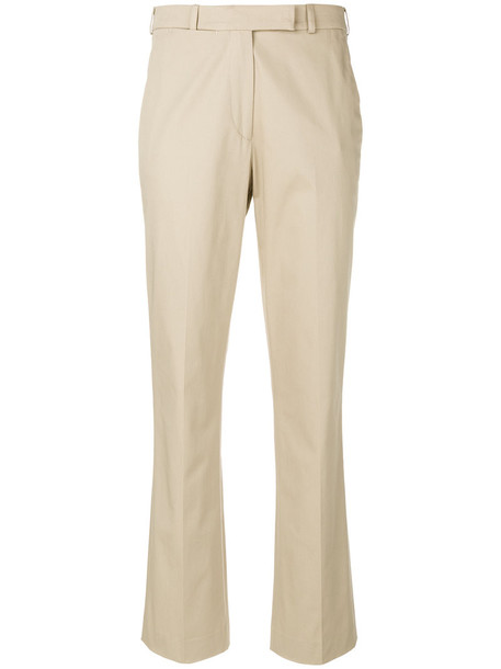 ETRO high women spandex nude cotton pants
