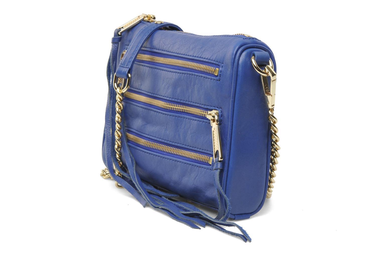 Mini 5 zip Clutch Rebecca Minkoff (blau) : stets kostenlose Lieferung Ihrer Innentasche Mini 5 zip Clutch Rebecca Minkoff bei Sarenza