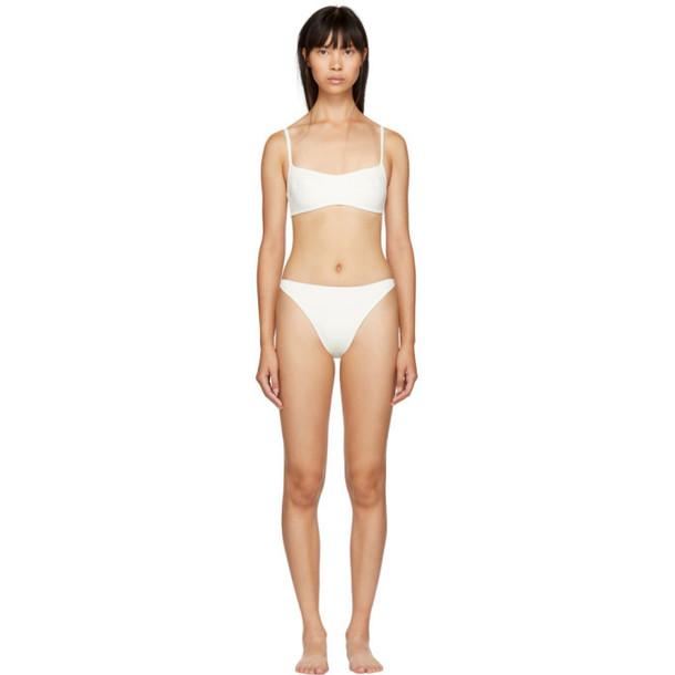 Solid and Striped Solid & Striped Off-White Elsa Bikini