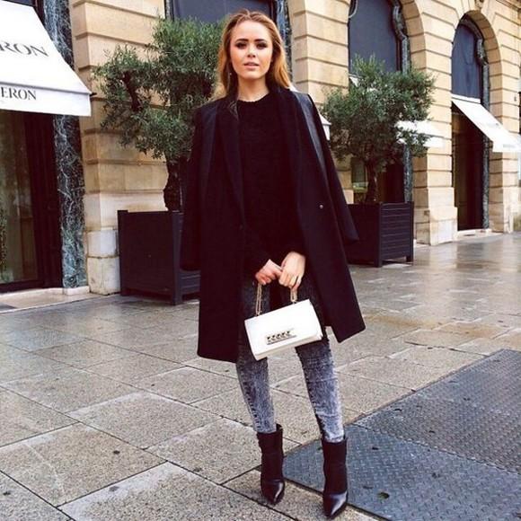 black coat classy bots classic