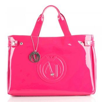 Armani Jeans Pink 05291 Women's Diamante Shoulder Bag