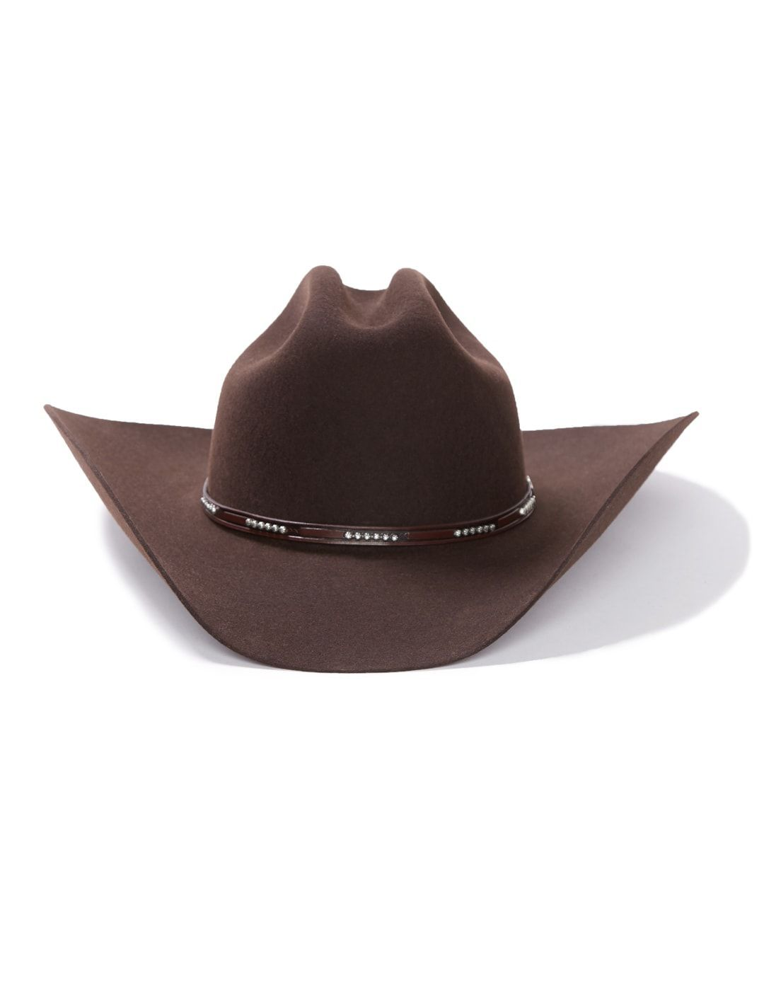 Stetson LLANO 4X Wool Cowboy Hat Chocolate with Pinch Front ... a6564c2c041