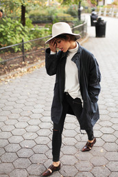 trop rouge,blogger,jacket,jeans,hat,shoes,parka,black jeans