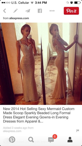 dress nude dress prom dress elegant dress champagne dress