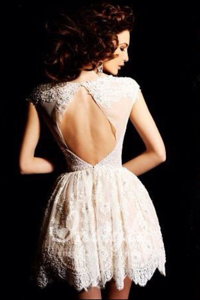 Oval Back Dresses