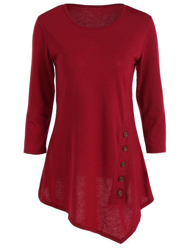 top gamiss burgundy fashion black friday cyber monday casual