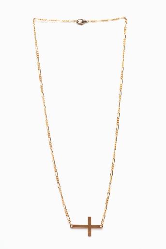 Sideways cross necklace in  lookbooks august lookbook: wild child at nasty gal