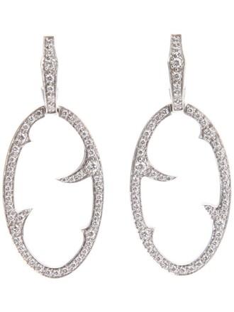earrings metallic jewels