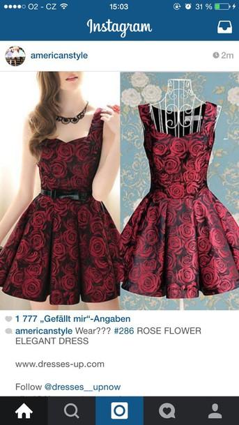 dress red dress valentines day dress