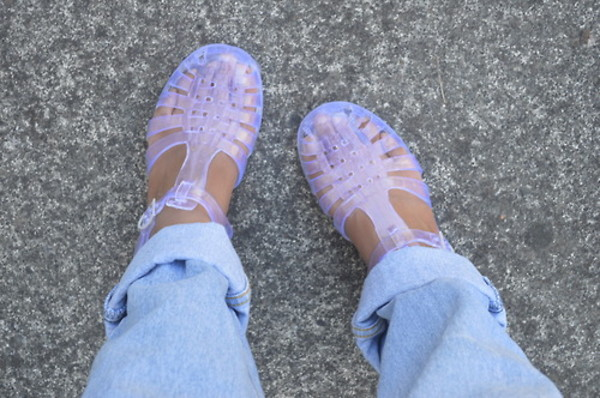 shoes summer indie hippie plastic sandals soft grunge