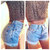 ORIGINAL BLUES High Waisted Shorts levis wrangler, gap, guess