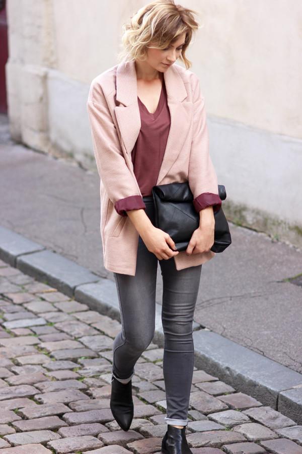 le blog d'artlex blogger jeans t-shirt