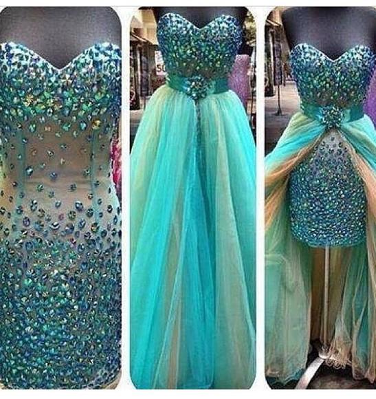 dress blue dress party glitter dress blouse