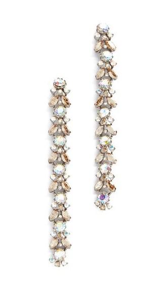 iridescent earrings jewels