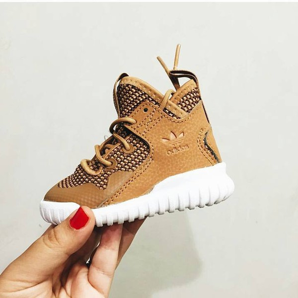 Brown Newborn Girl Shoes
