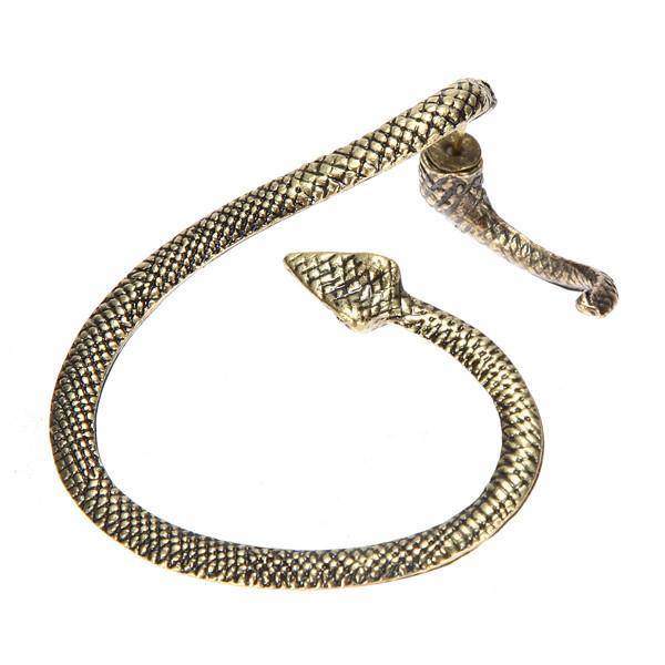 Snake twist ear cuff