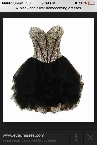 prom dress dress homecoming short sparkle black fluffy