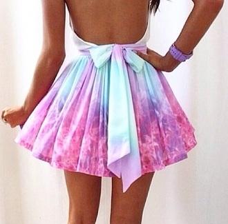 dress galaxy purple dress