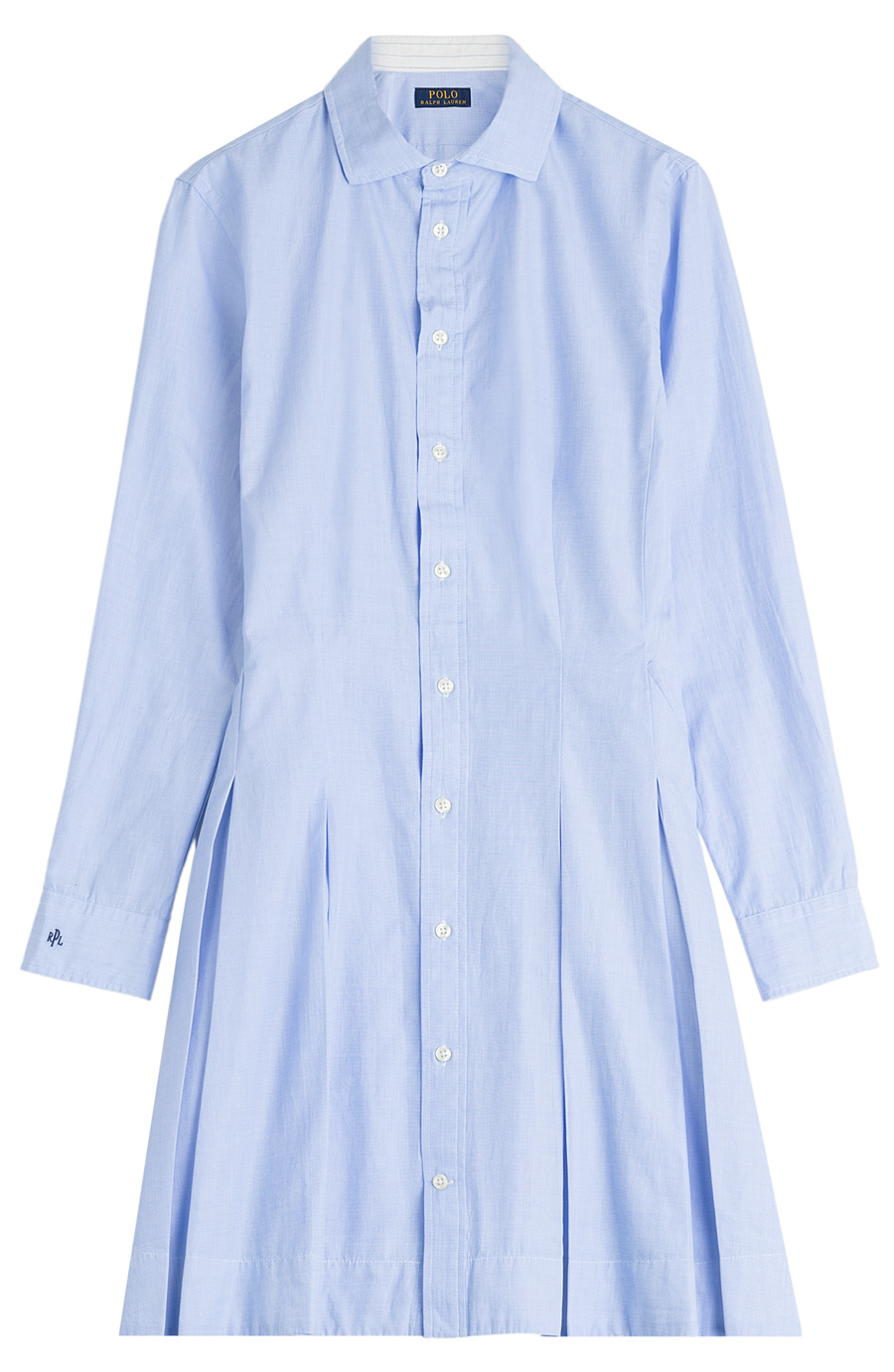 Long Sleeve Cotton Lauren Ralph Polo Charlotte Dress Casual rQdsxhCt