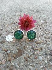 jewels,the glitzy hen,peacock earrings,silver,silver earrings,stud earrings